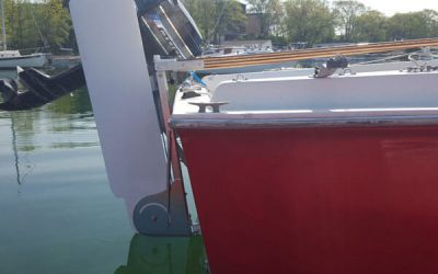 Rudders, Tillers, Custom Projects for Sailboats- Rudder Craft